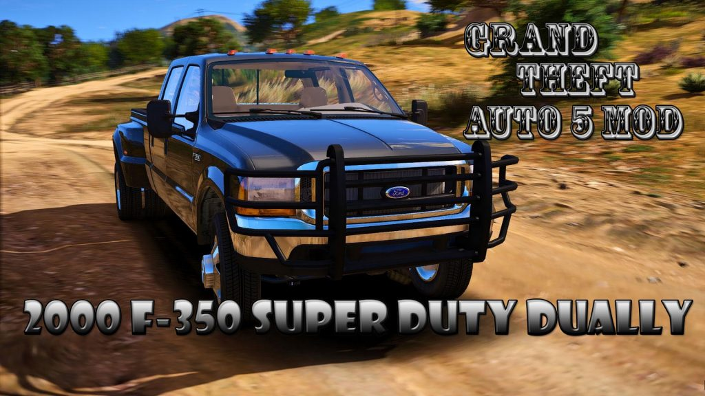 2000 Ford F-350 Super Duty Dually Mod For GTA 5