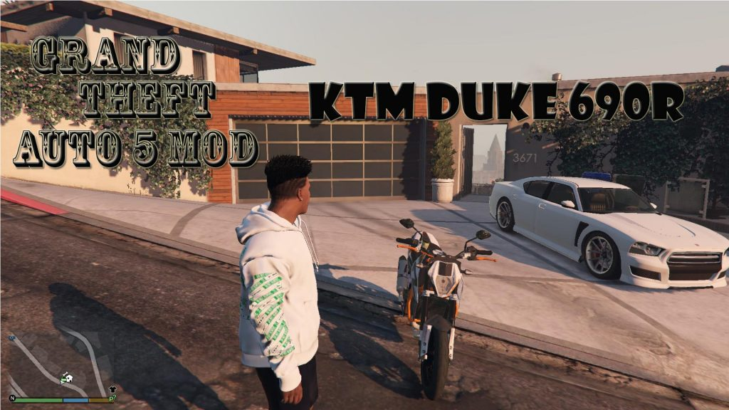 KTM DUKE 690R Motocycle Mod For GTA 5