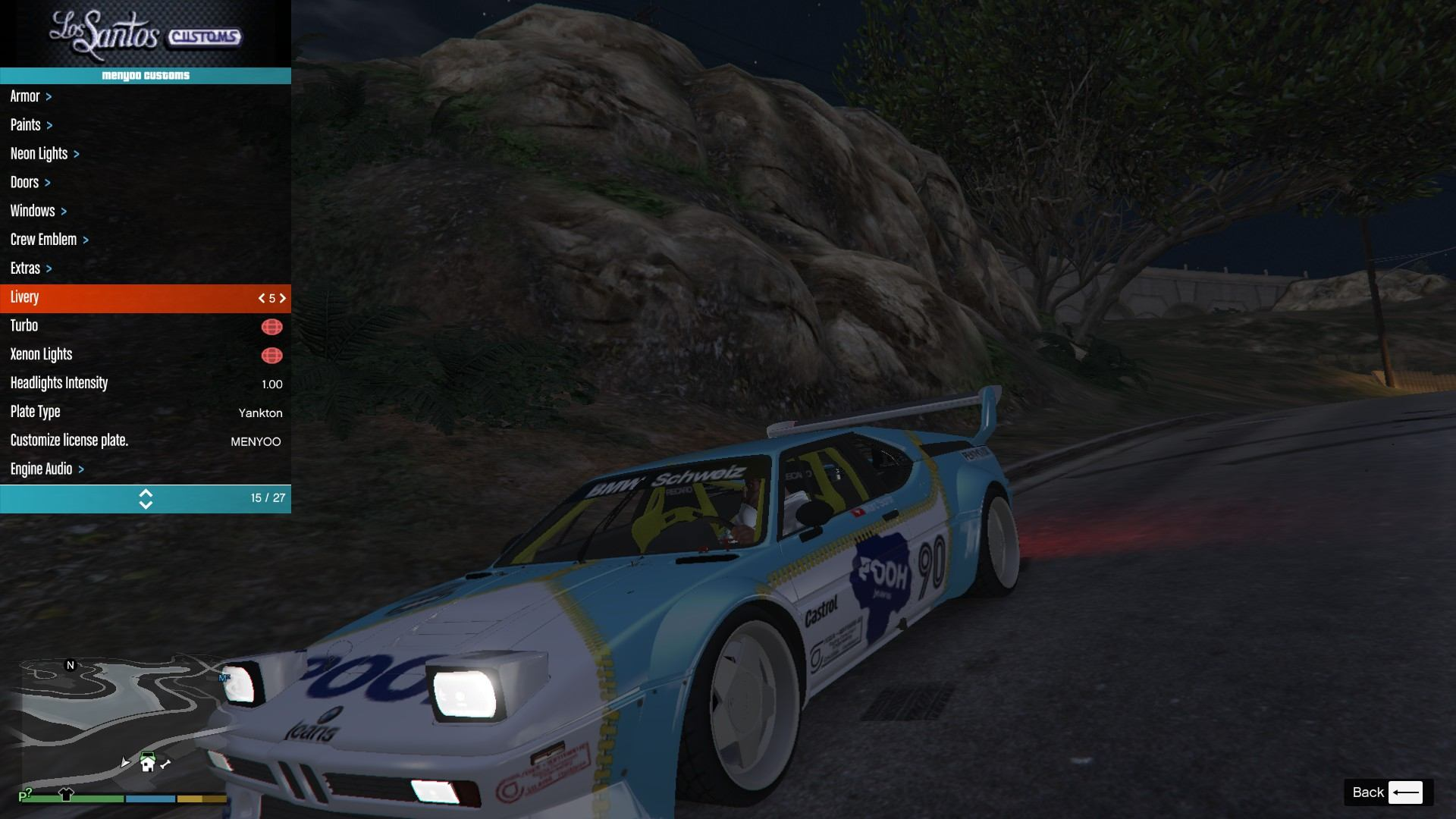 BMW M1 ProCar GTA5 Mods (13)