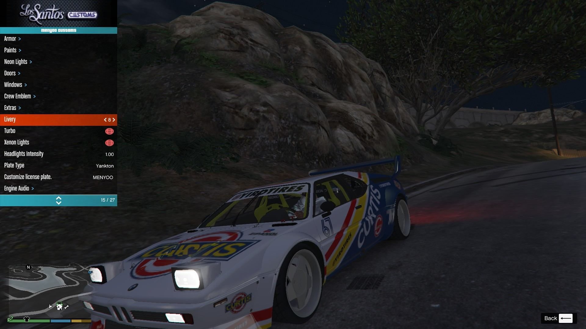 BMW M1 ProCar GTA5 Mods (16)
