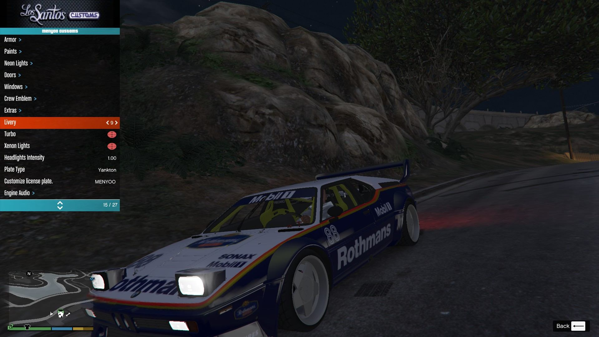 BMW M1 ProCar GTA5 Mods (17)