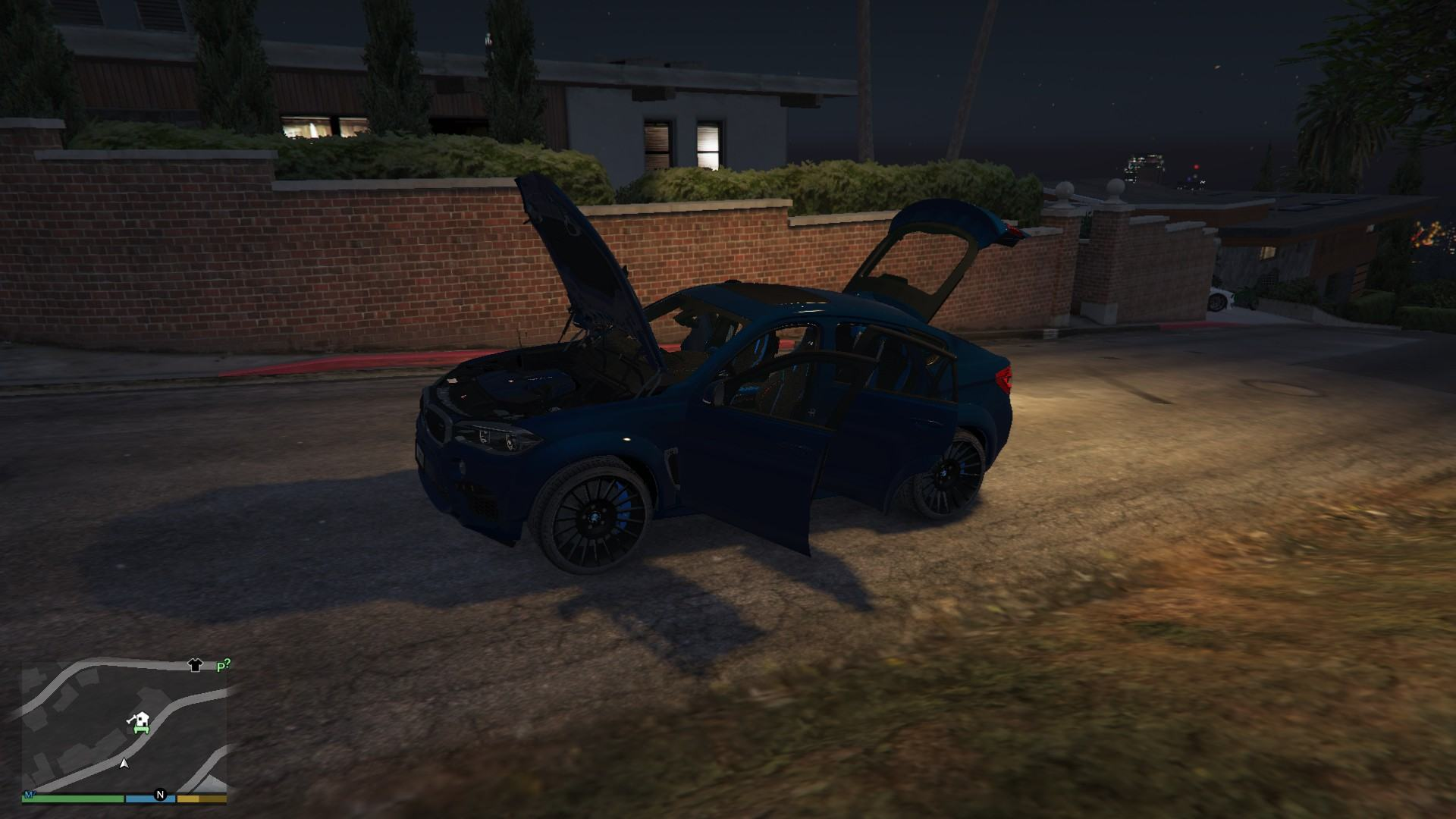 BMW X6M GTA5 Mods (8)