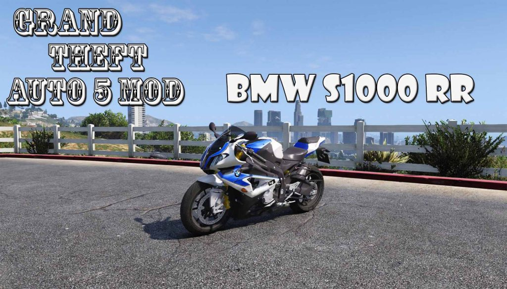 2014 BMW S1000RR Mod For GTA5