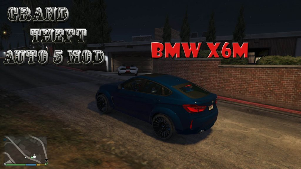 BMW X6M Mod For GTA5