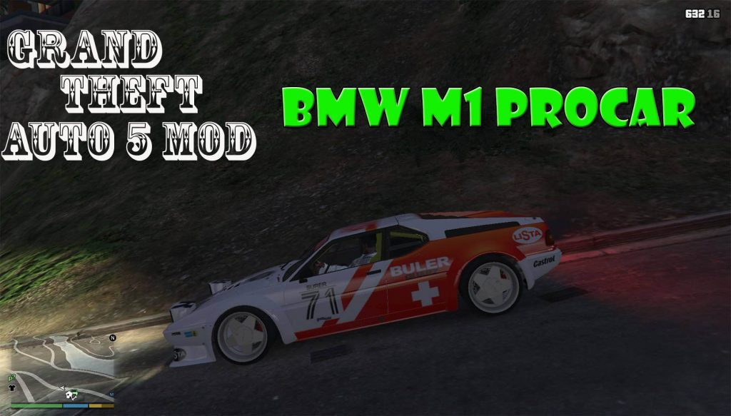 BMW M1 Procar Mod For GTA 5