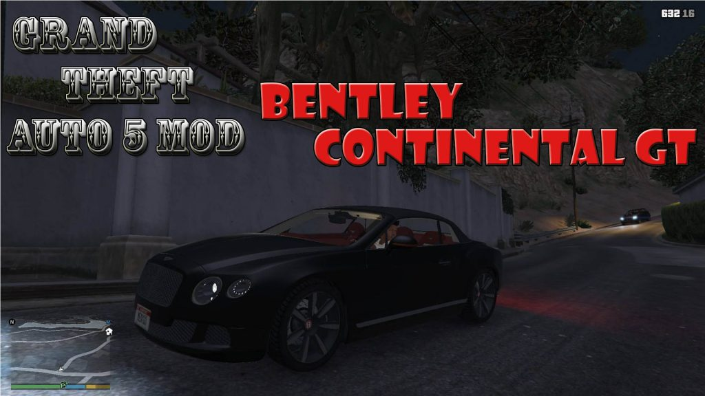 2014 Bentley Continental GT Mod For GTA5