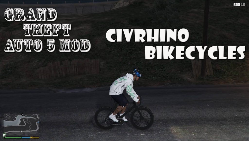 Civrhino Bike Cycles Mod For GTA5