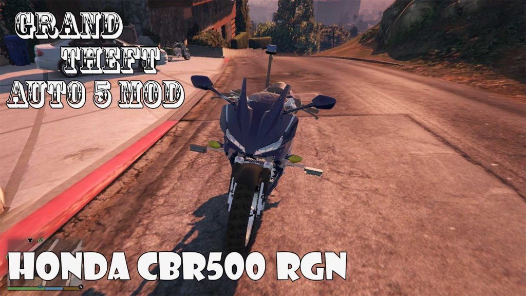 Honda CBR500 RGN Motorcycle Mod For GTA5