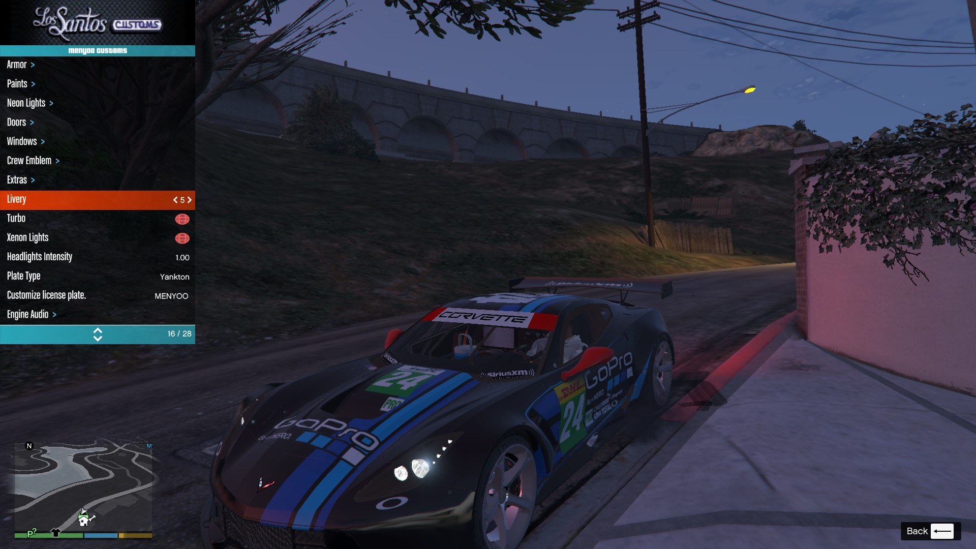 Chevrolet Corvette C7R GTA5 Mods (11)