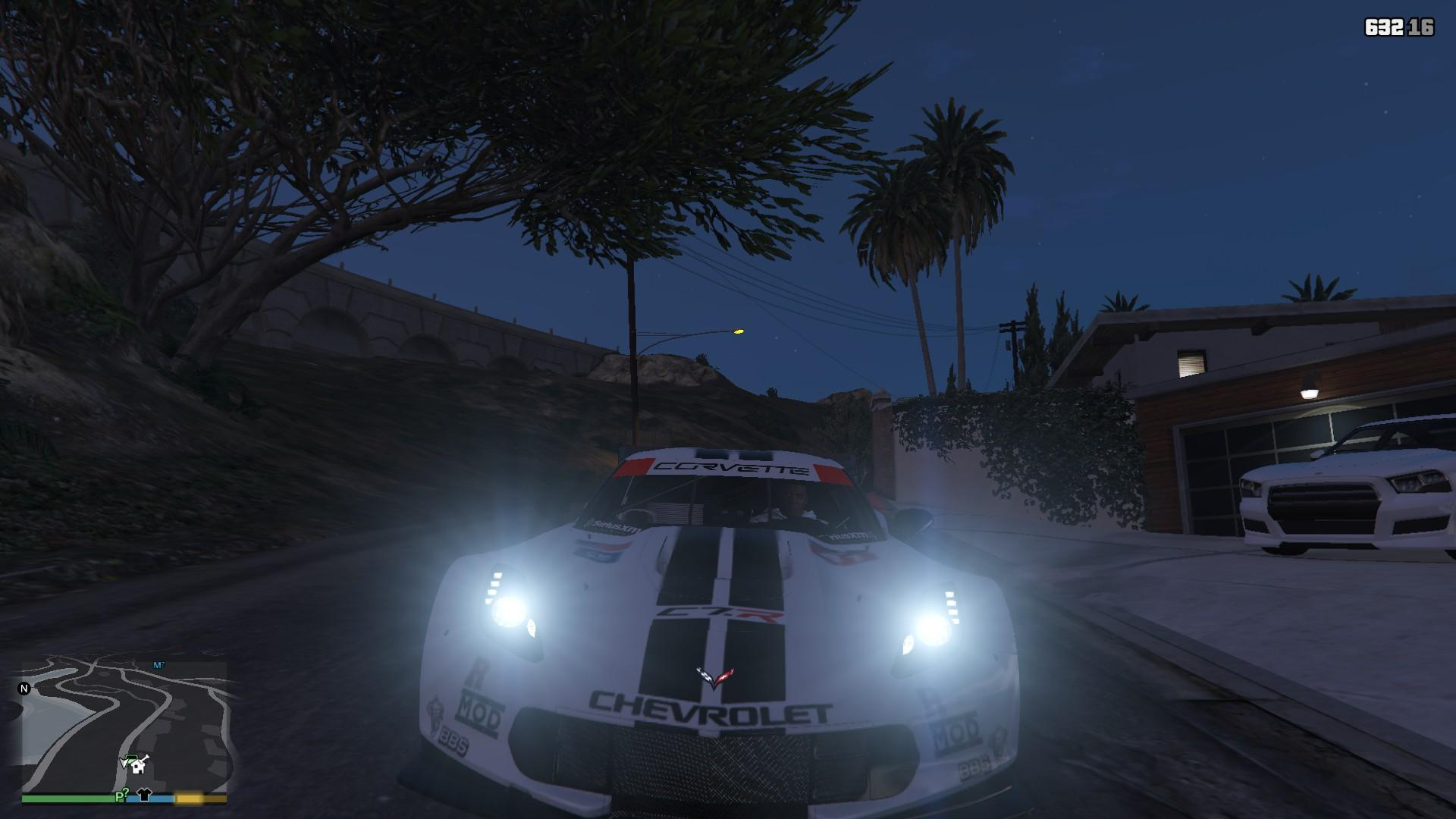 Chevrolet Corvette C7R GTA5 Mods (17)