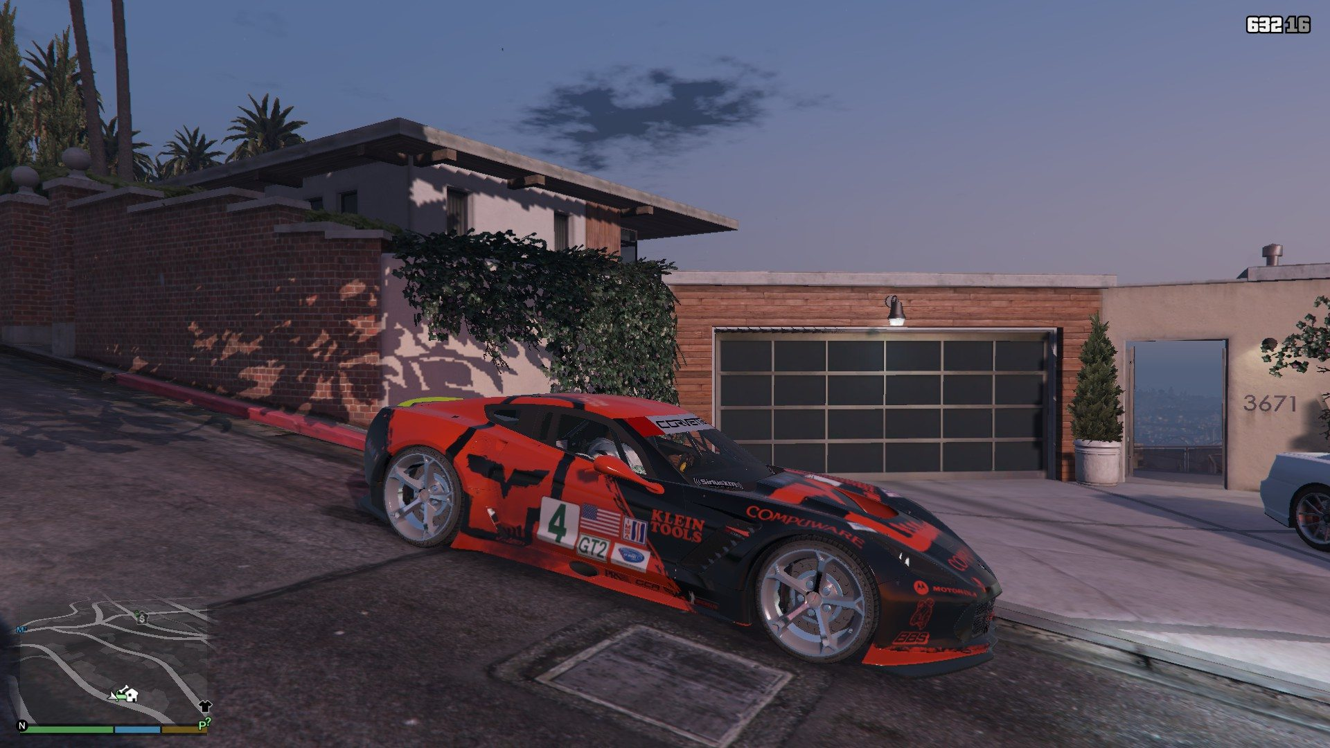 Chevrolet Corvette C7R GTA5 Mods (2)
