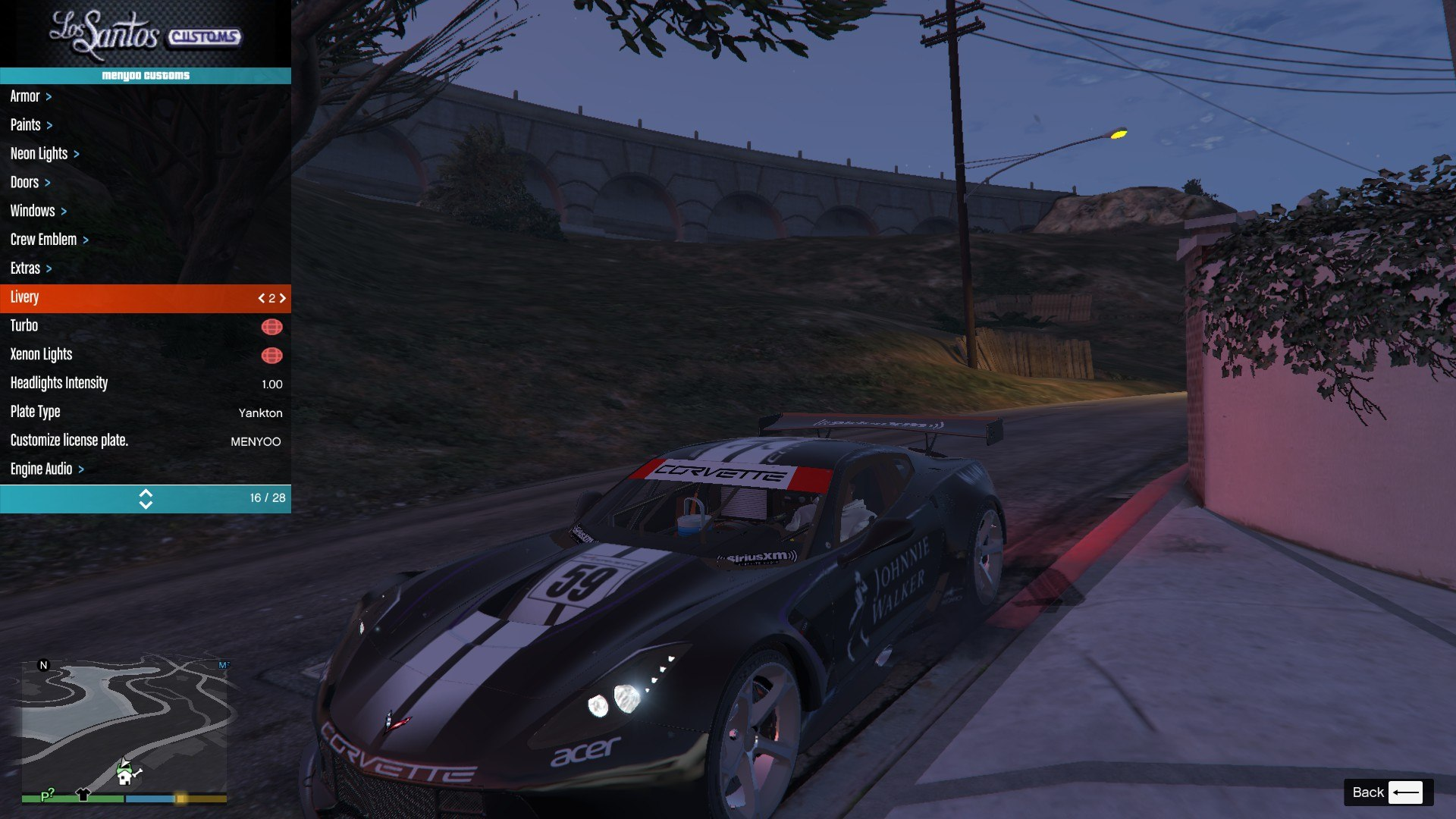 Chevrolet Corvette C7R GTA5 Mods (8)