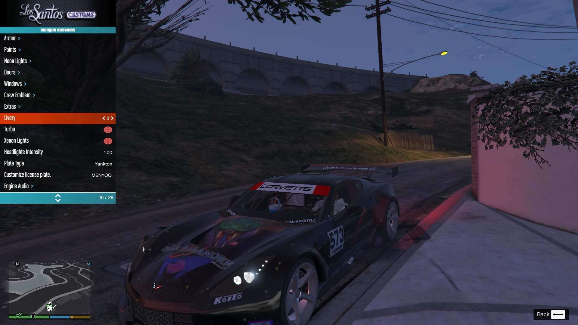 Chevrolet Corvette C7R GTA5 Mods (9)
