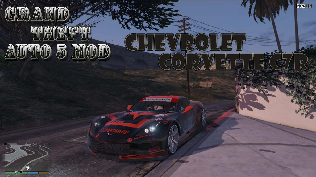 Chevrolet Corvette C7R Mod For GTA 5