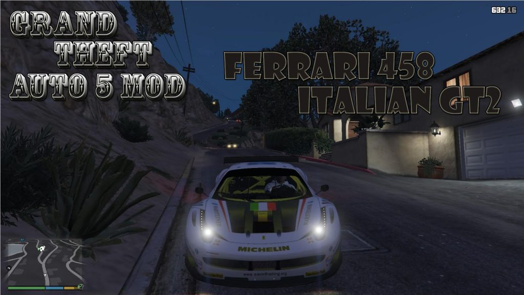Ferrari 458 Italian GT2 Mod For GTA 5