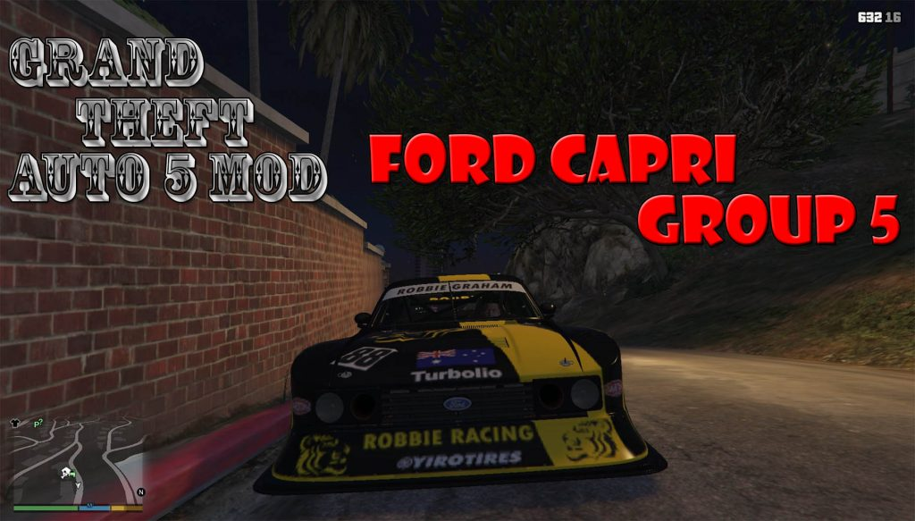 Ford Capri Group 5 Mod For GTA 5