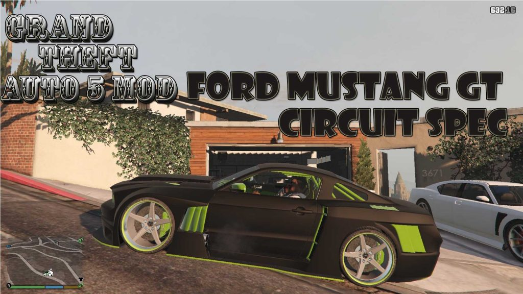 Ford Mustang GT Circuit Spec Mod For GTA 5
