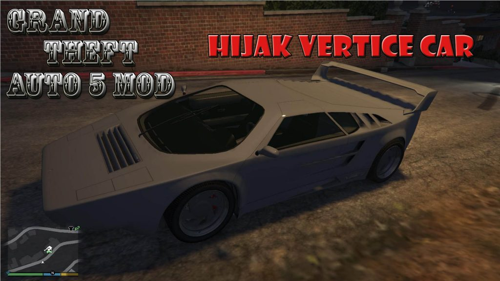 Hijak Vertice Car Mod For GTA5