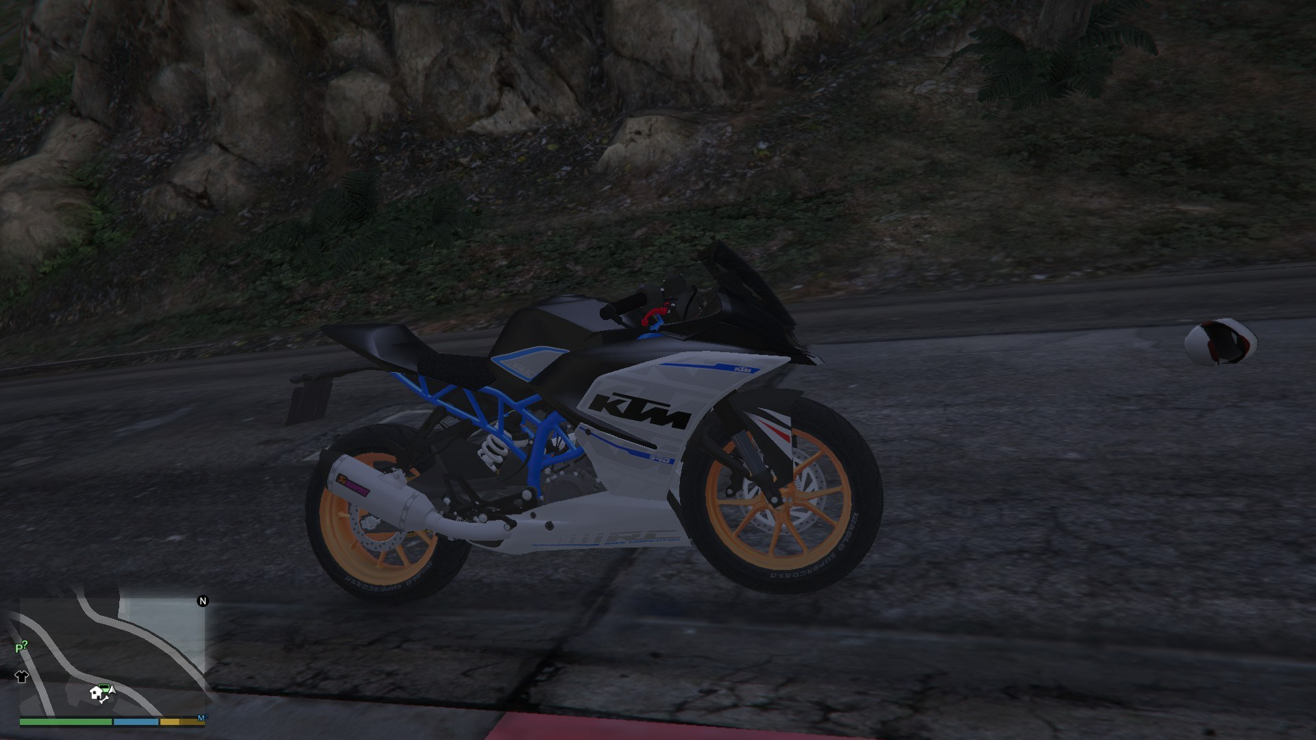 KTM RC 390 2014 GTA5 Mods (10)