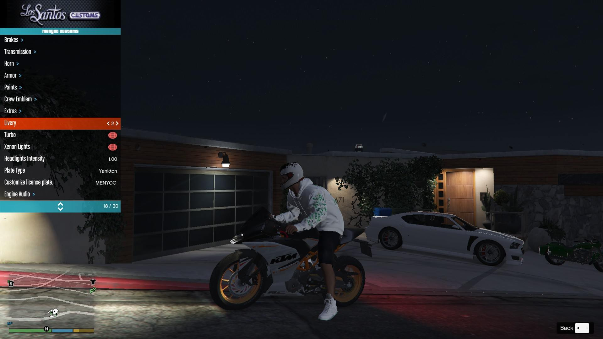 KTM RC 390 2014 GTA5 Mods (6)