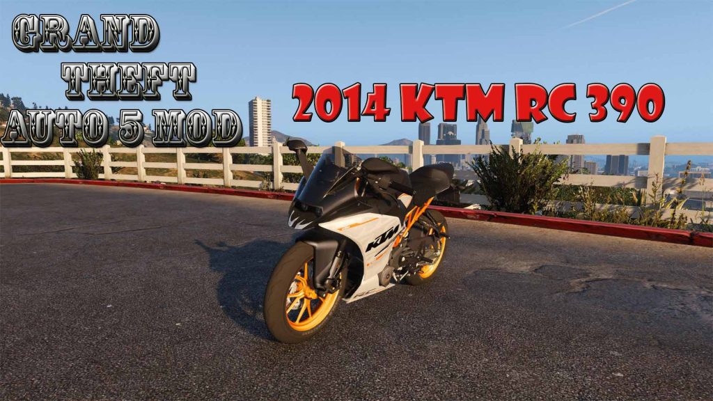 2014 KTM RC 390 Motorcycle Mod For GTA5