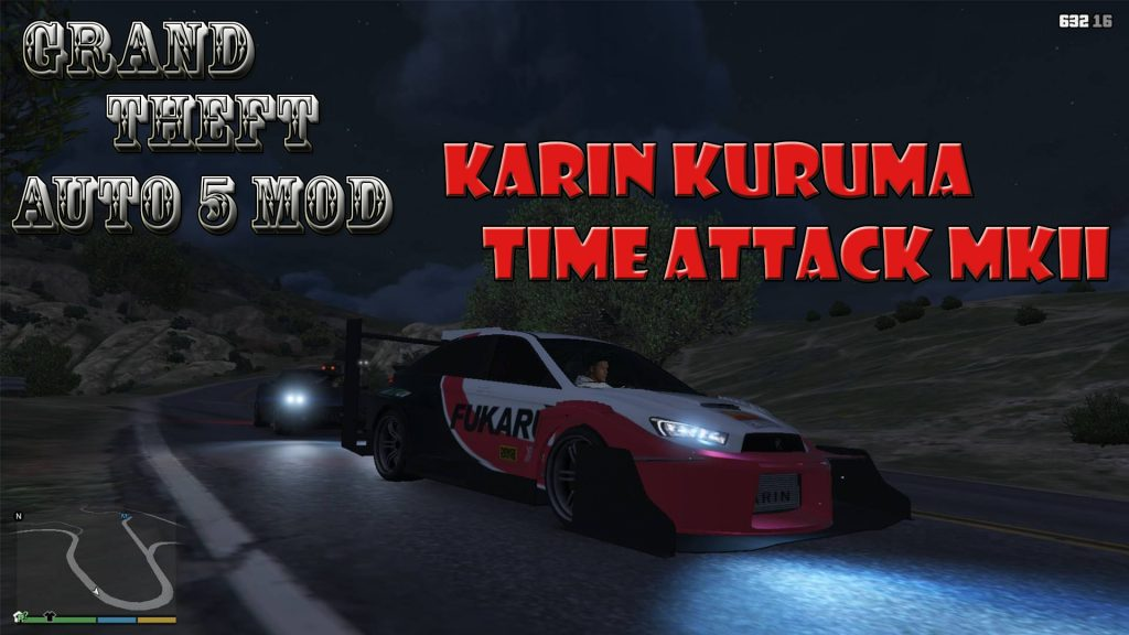 Karin Kuruma Time Attacks MKII Mod For GTA5