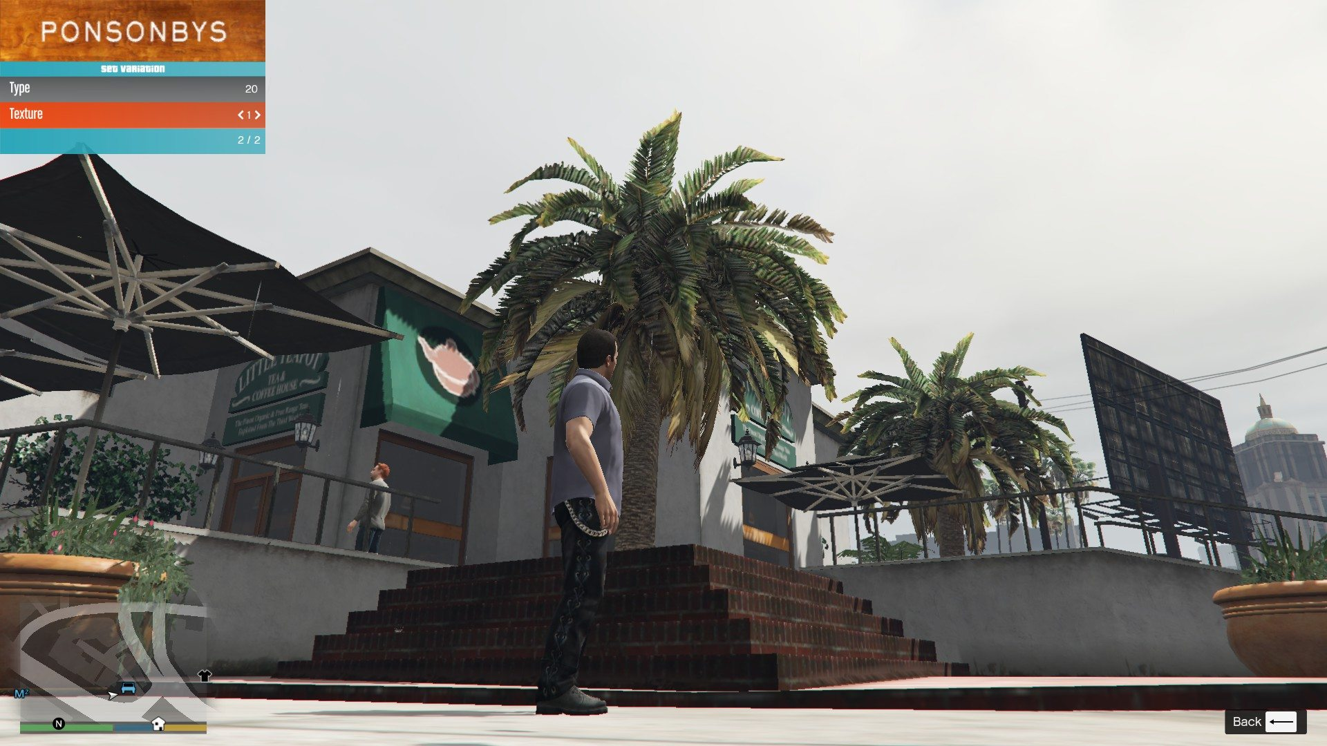 Leather Pants Micheal GTA5 Mods (1)