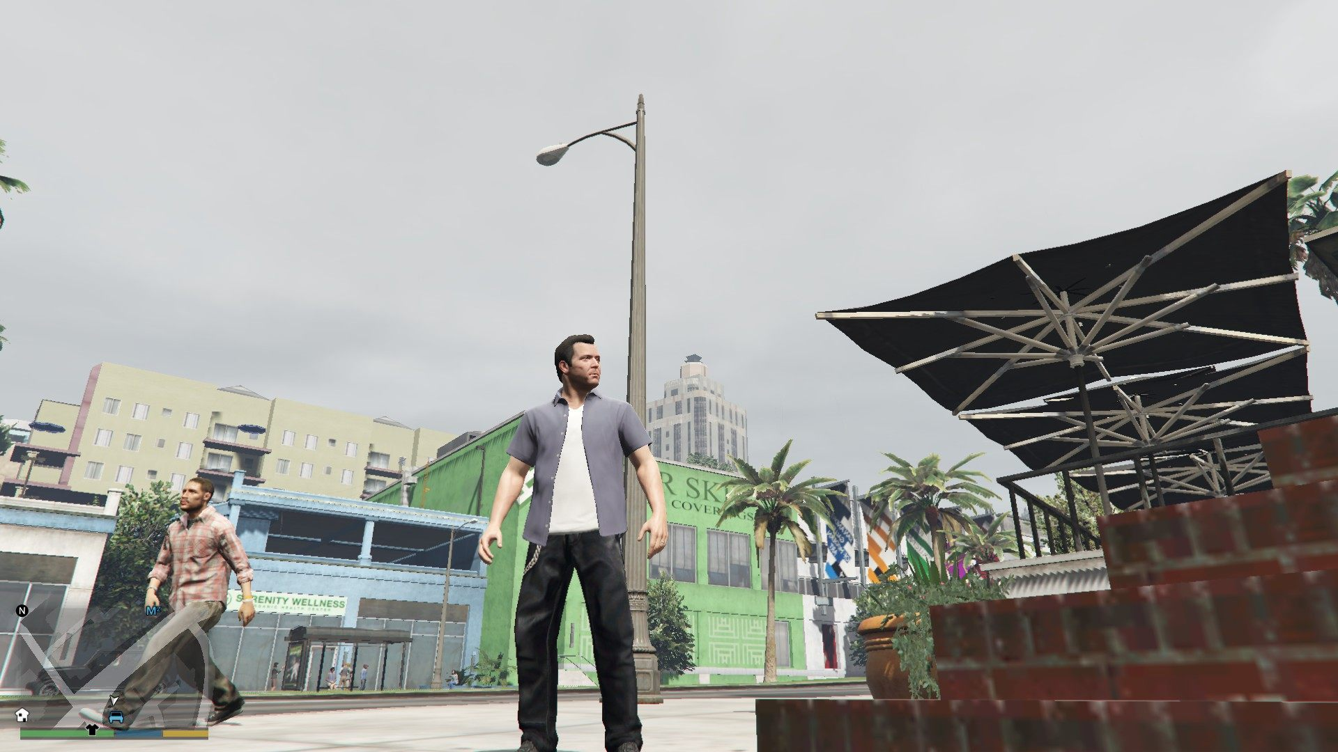 Leather Pants Micheal GTA5 Mods (2)