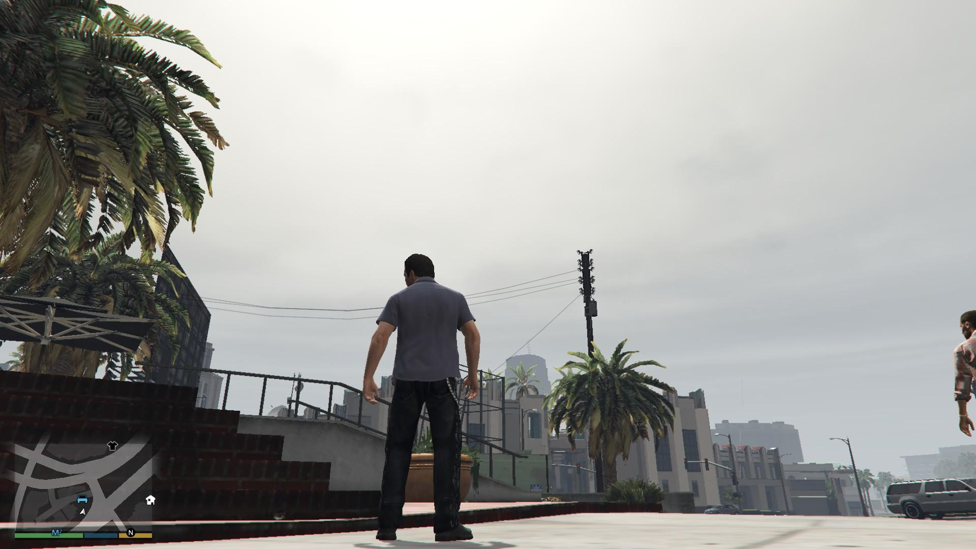 Leather Pants Micheal GTA5 Mods (3)