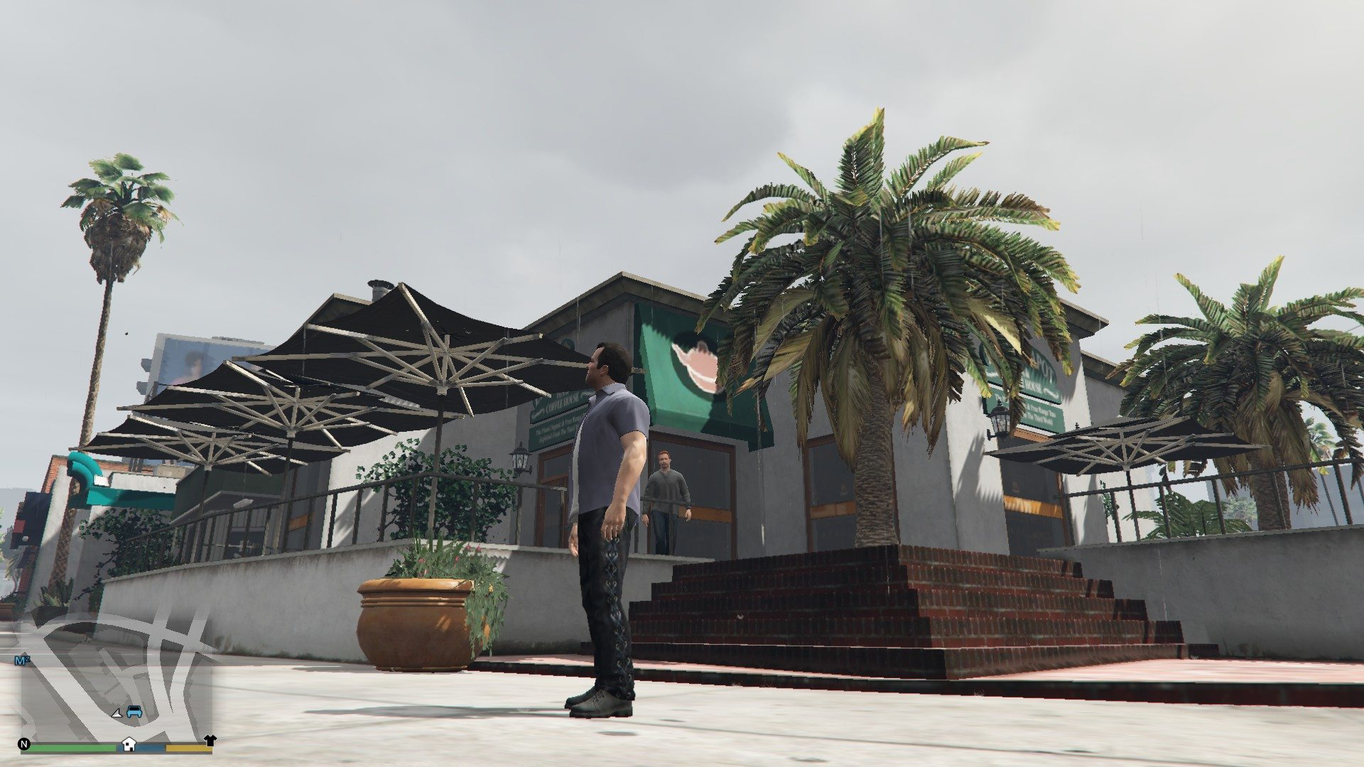 Leather Pants Micheal GTA5 Mods (4)