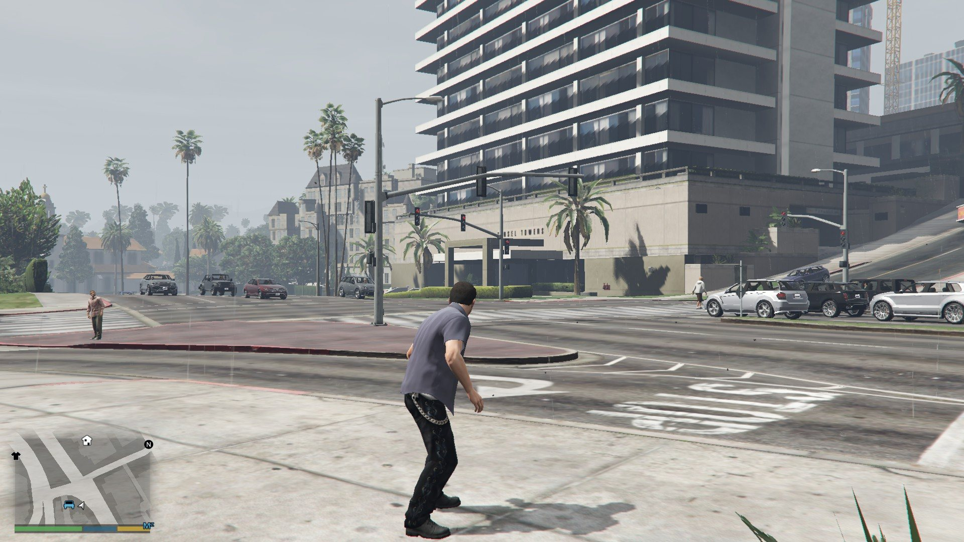 Leather Pants Micheal GTA5 Mods (5)