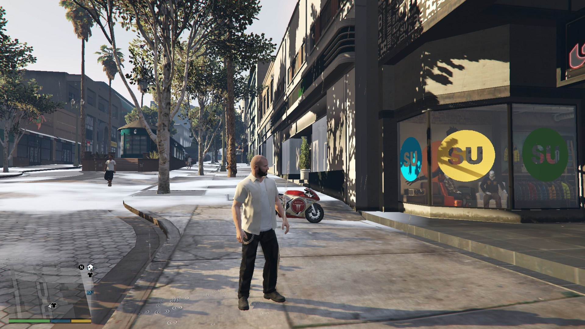 Leather Pants Micheal GTA5 Mods (6)