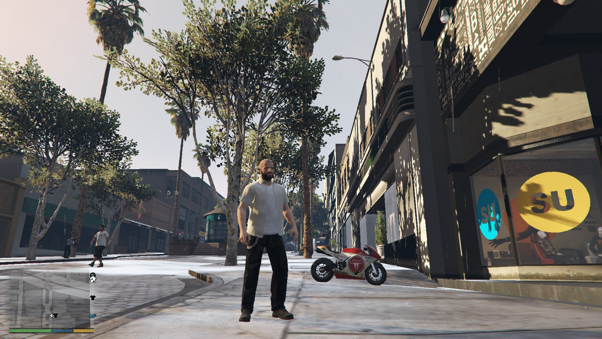 Leather Pants Micheal GTA5 Mods (7)