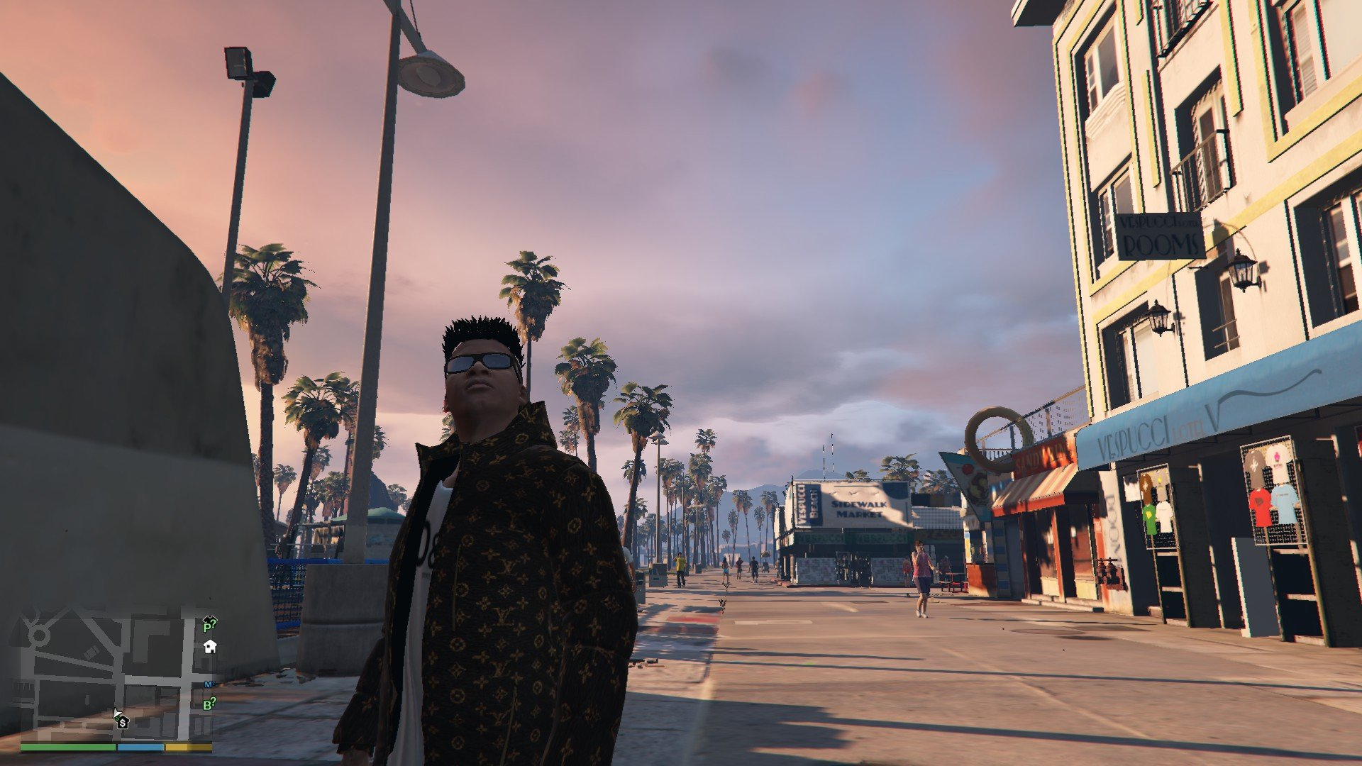 Louis Vulton Shirt GTA5 Mods (5)