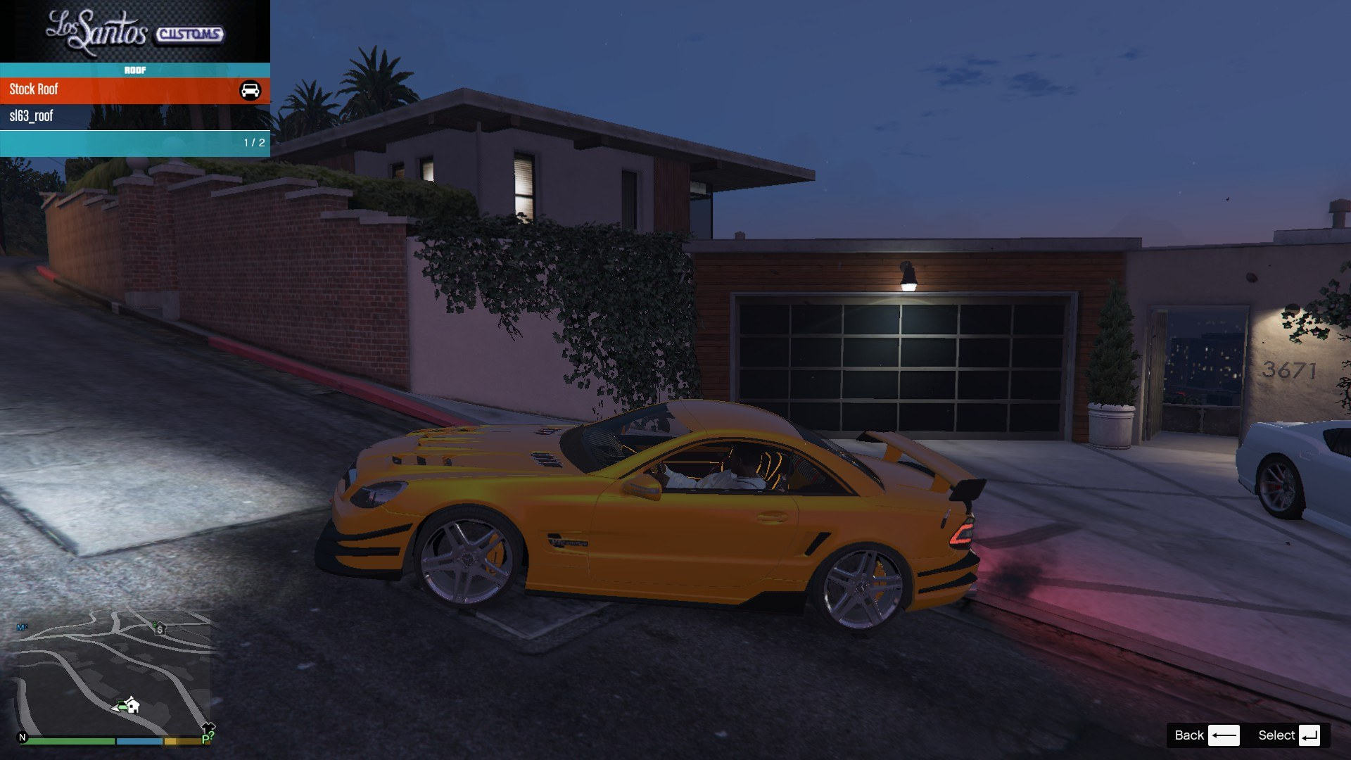 Mercedes Benz SL63AMG GTA5 Mods (1)