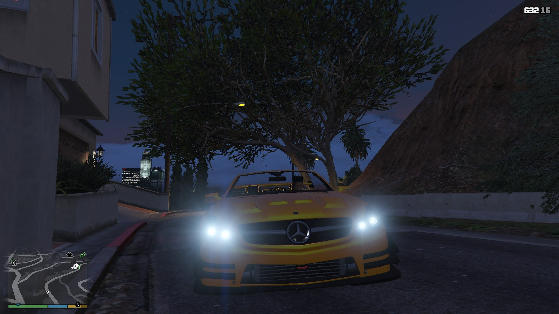 Mercedes Benz SL63AMG GTA5 Mods (10)