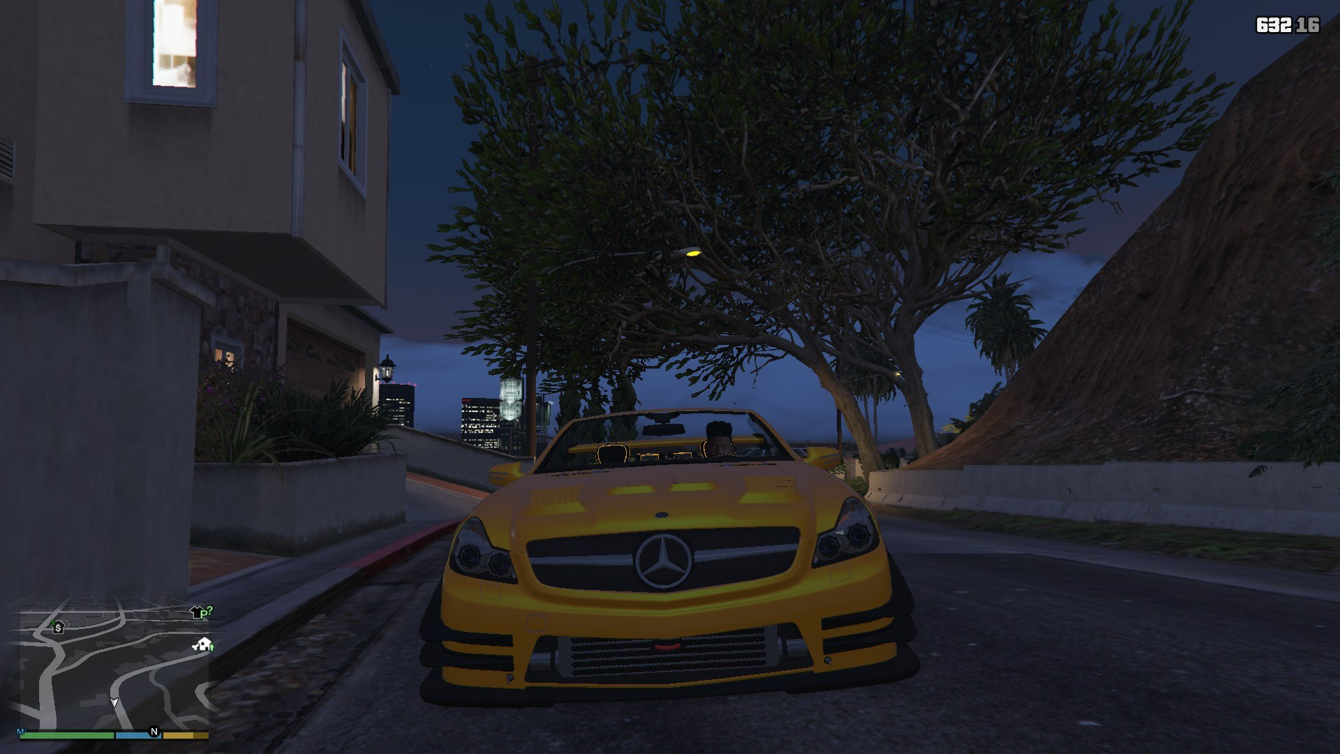 Mercedes Benz SL63AMG GTA5 Mods (11)