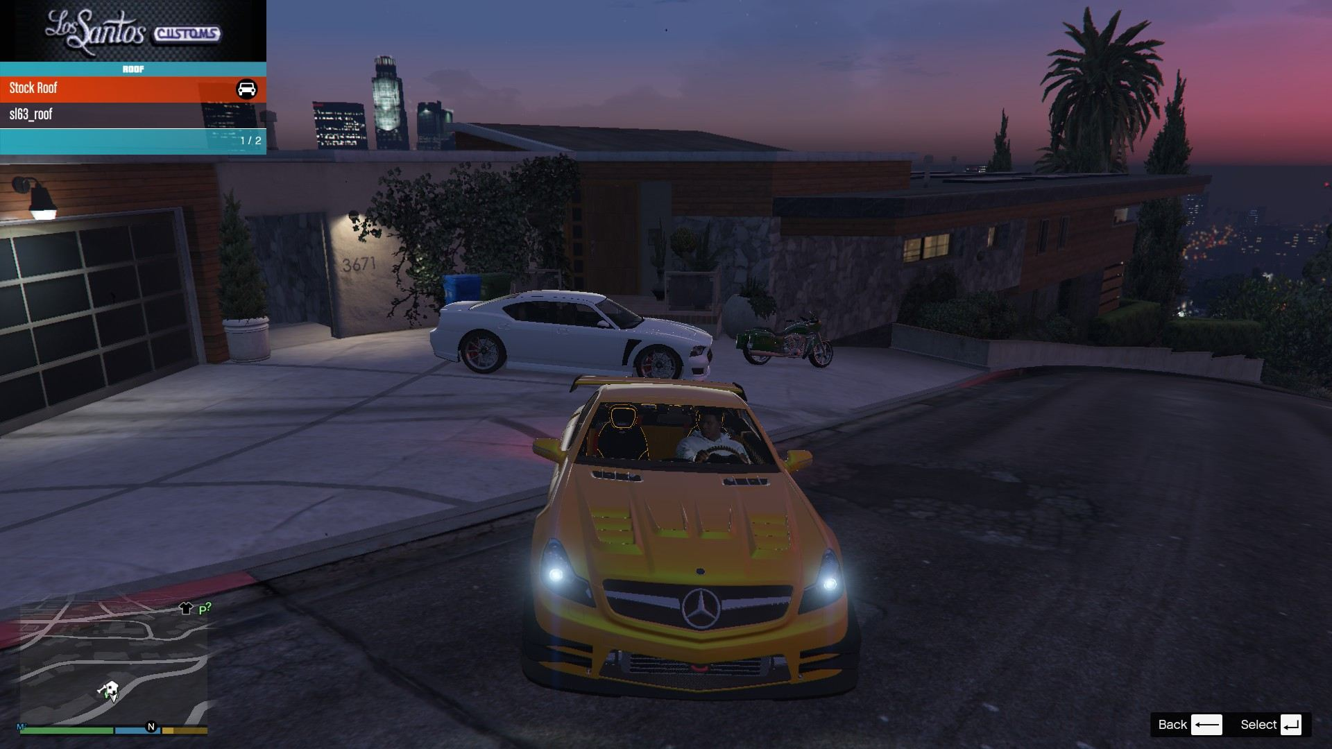 Mercedes Benz SL63AMG GTA5 Mods (2)