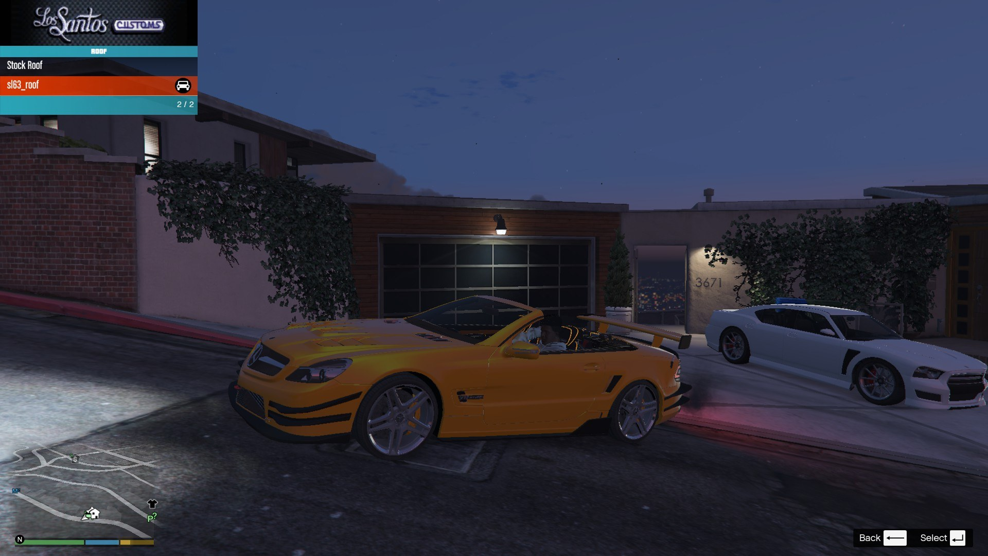 Mercedes Benz SL63AMG GTA5 Mods (7)