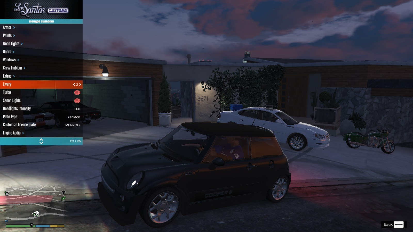 Mini Cooper S R53 GTA5 Mods (2)