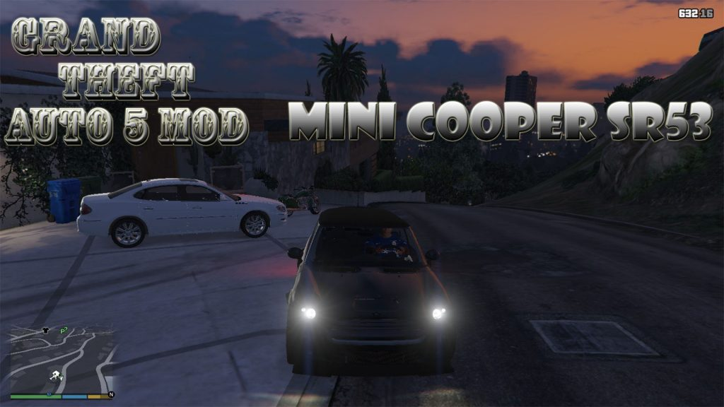 Mini Cooper S R53 Mod For GTA5
