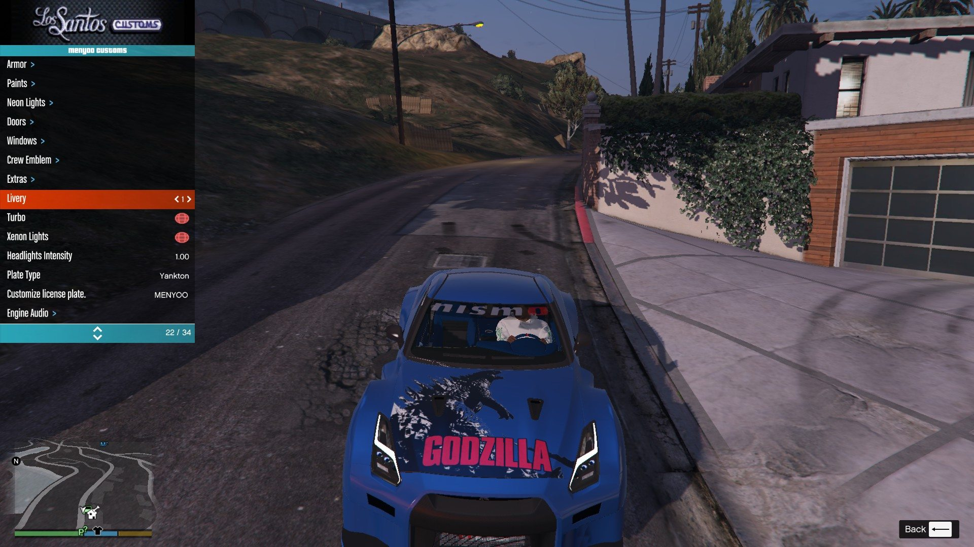 Nissan GTR Widebodykit GTA5 Mods (1)