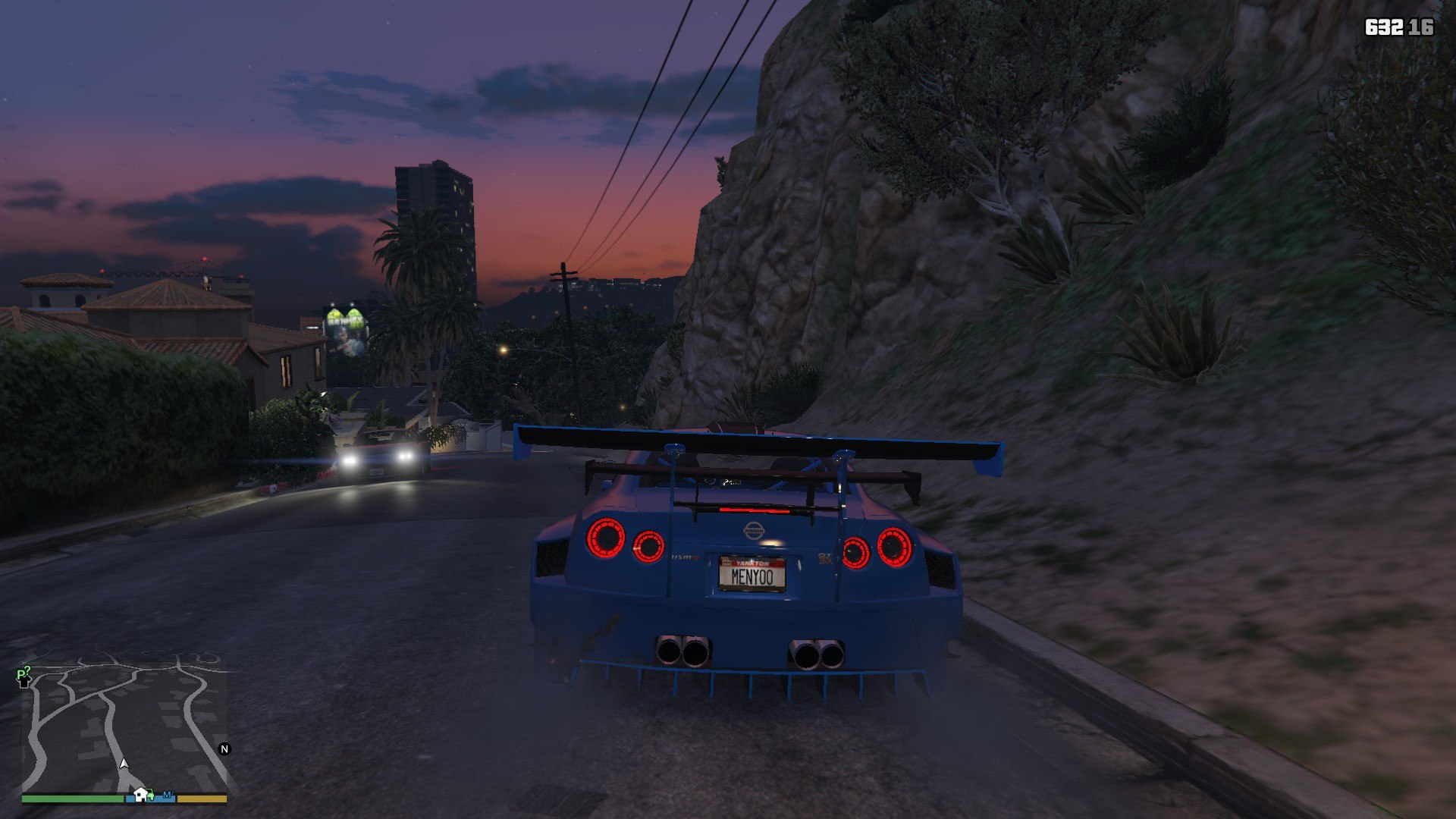 Nissan GTR Widebodykit GTA5 Mods (10)
