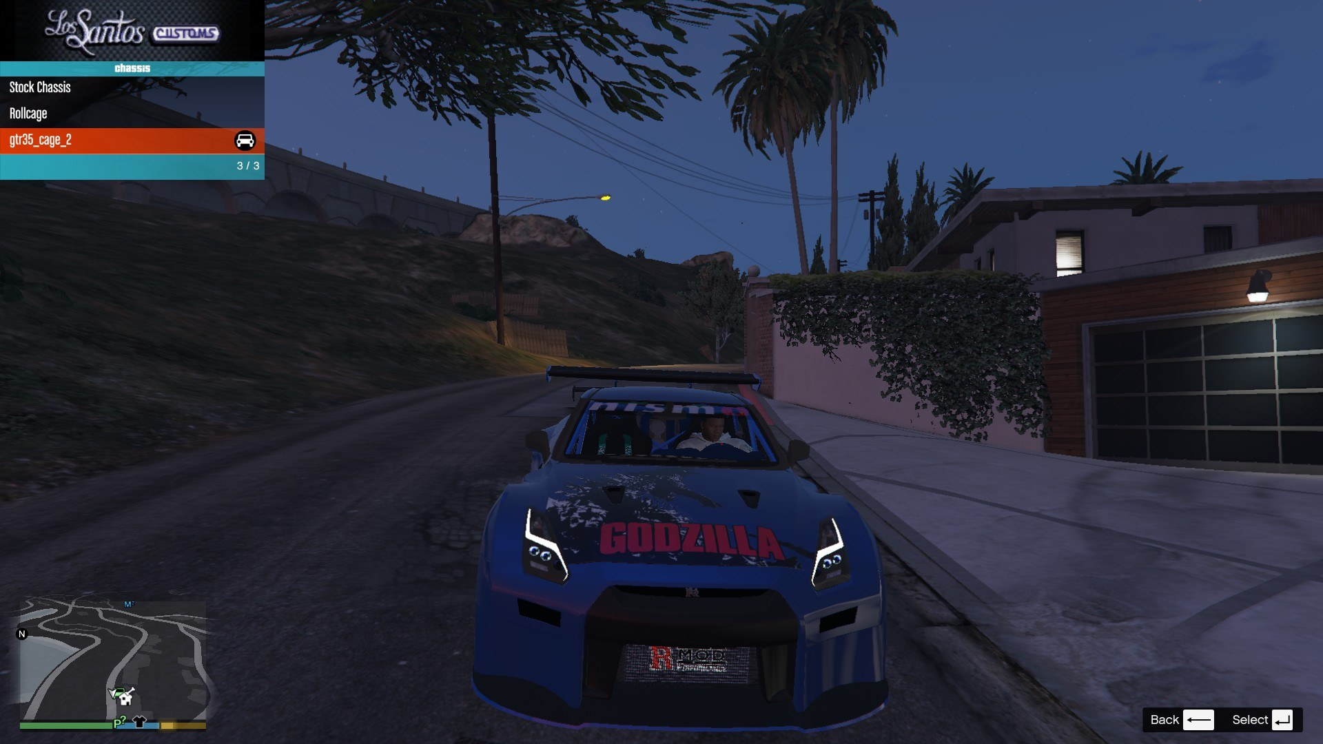 Nissan GTR Widebodykit GTA5 Mods (5)