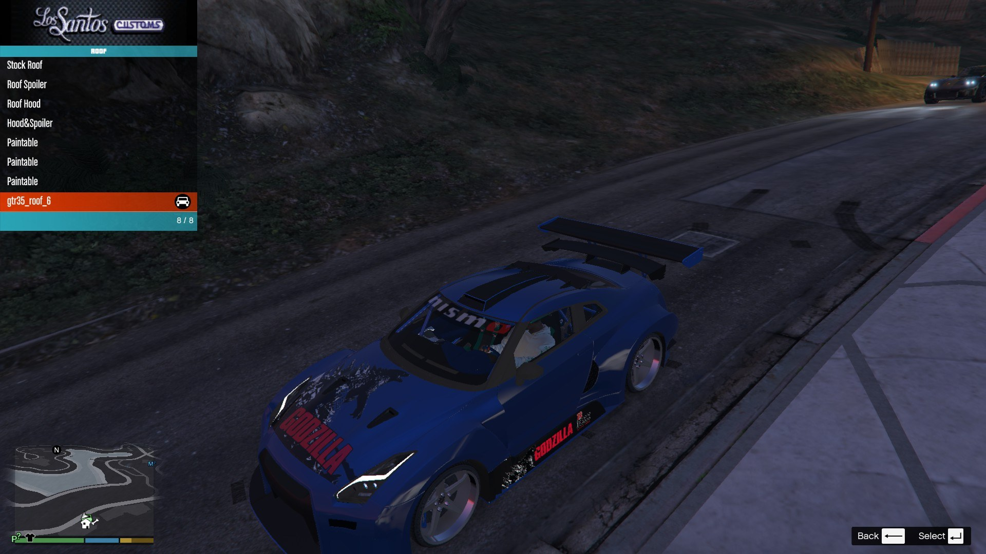 Nissan GTR Widebodykit GTA5 Mods (6)