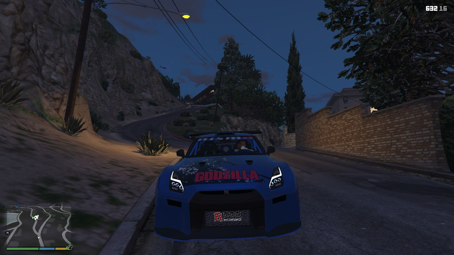 Nissan GTR Widebodykit GTA5 Mods (9)