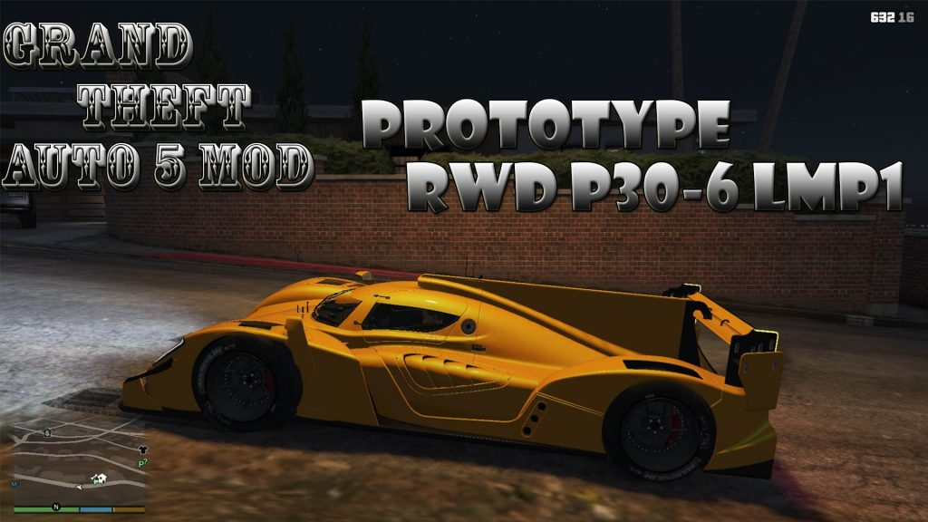 Prototype RWD P30-6 LMP1 Mod For GTA5