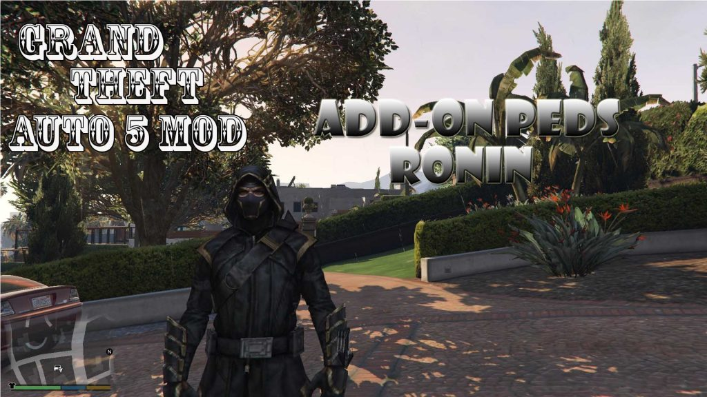 Ronin Add-On Peds Mod For GTA5