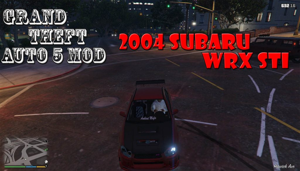 2004 Subaru WRX STI Mod For GTA5