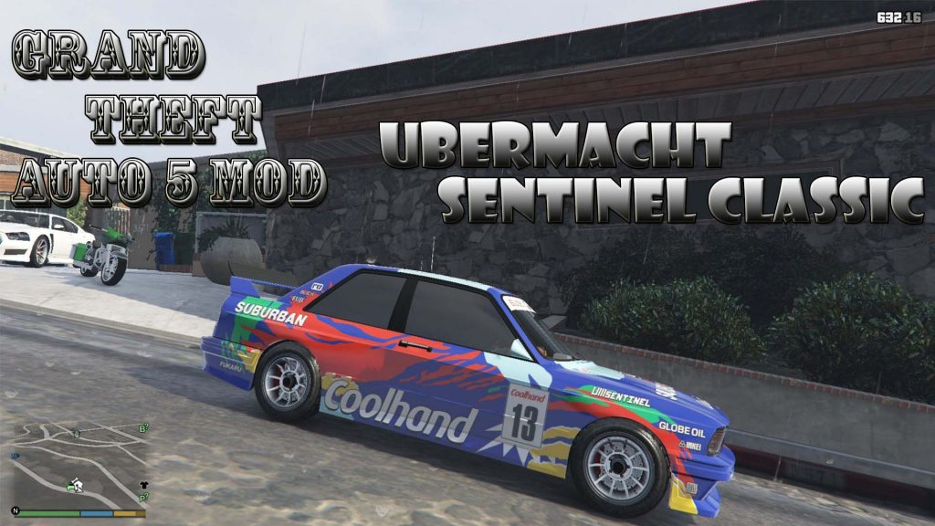 Ubermacht Sentinel Classic DTM Mod For GTA5